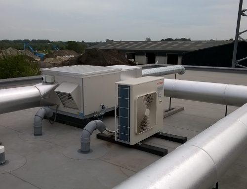 Centraal ventilatiesysteem met WTW