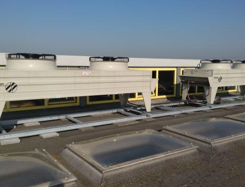 Vervanging condensors bij capaciteitsproblemen warm weer